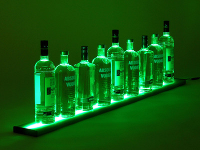 Photo of Vipply Glowing LED Shelves LED Liquor Shelf // 4 Feet by Touch Of Modern