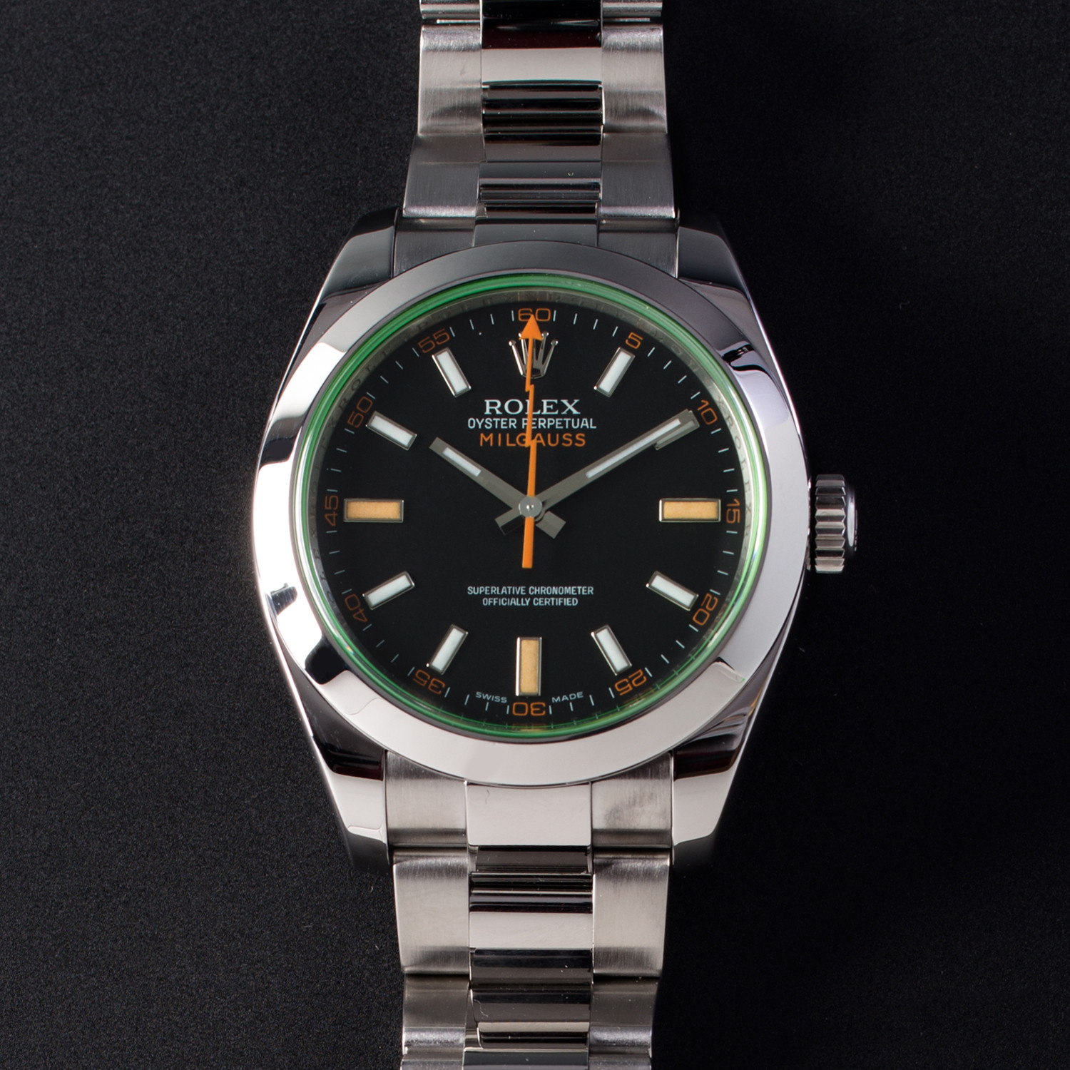 Rolex Milgauss // 116400 , Vintage Dream Timepieces , Touch