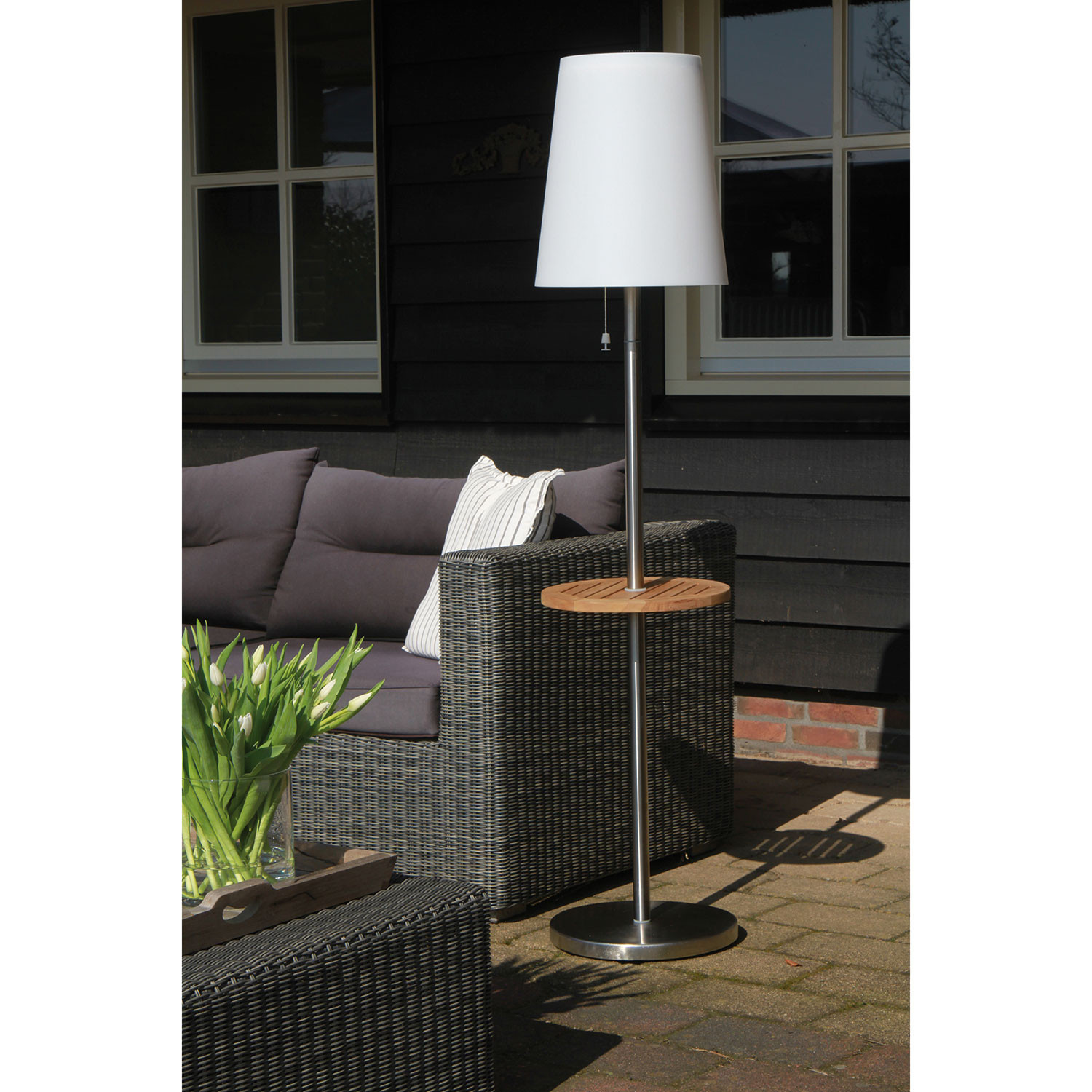 roots no 5 floor lamp gacoli touch of modern. Black Bedroom Furniture Sets. Home Design Ideas