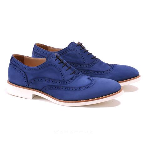 Wingtip // Blauw + White