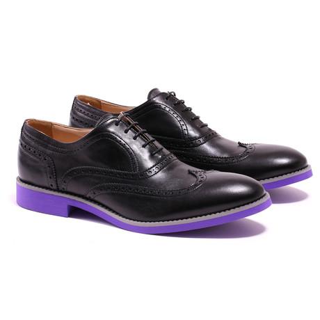 Wingtip // Black + Purple