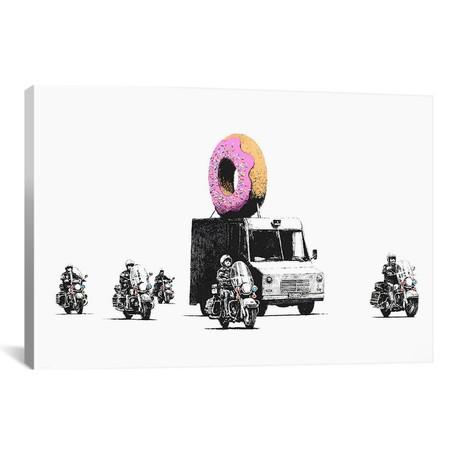 Donut Police // Banksy
