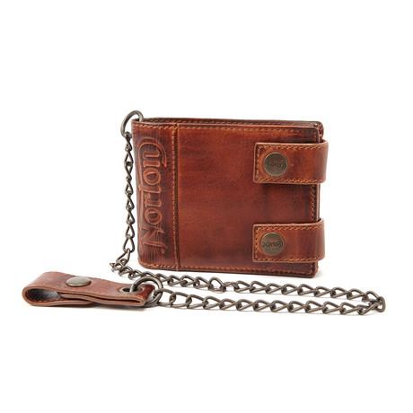 Biker Chain Wallet // Tan