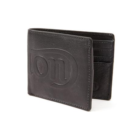 Norton // Debossed Wallet // Black