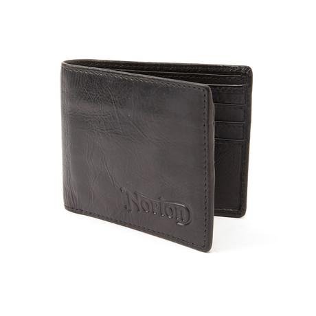 Norton // Bi-Fold Wallet // Black