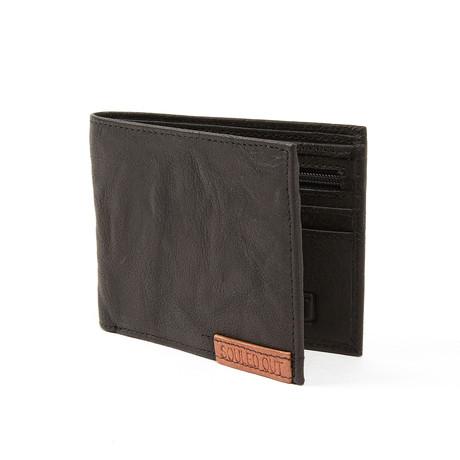 Souled Out // Bi-Fold Wallet // Black