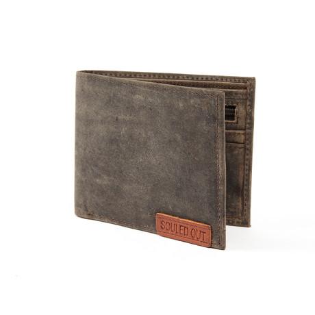 Souled Out // Bi-Fold Wallet // Brown