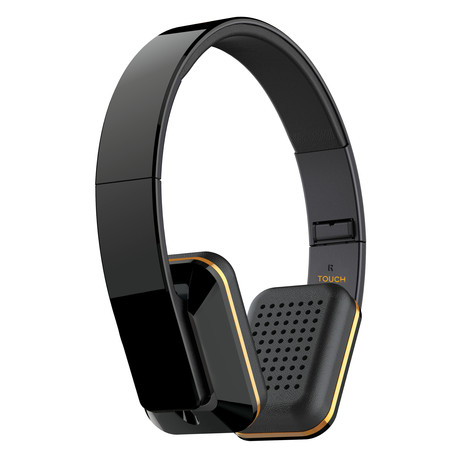 air fi touch bluetooth wireless headphones meelectronics touch of modern. Black Bedroom Furniture Sets. Home Design Ideas