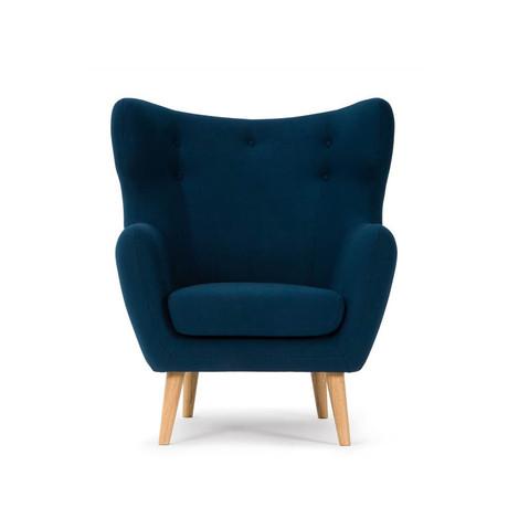 Velour Lounge Chair