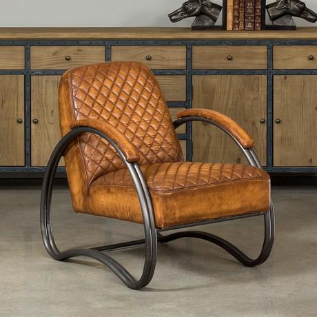 Ferris Arm Chair // Brown
