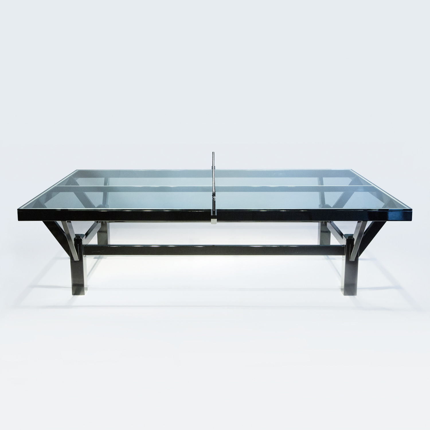 Attractive The TravisMathew Glass Top Table