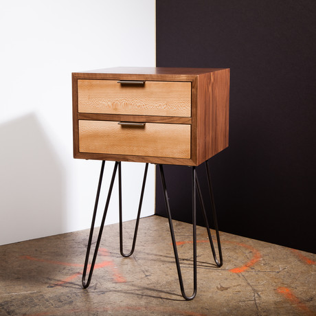 zero hour nightstand 12 hairpin legs cloaked touch