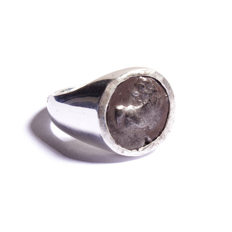 Ancient Greece Thracian Chersonesus Silver Ring