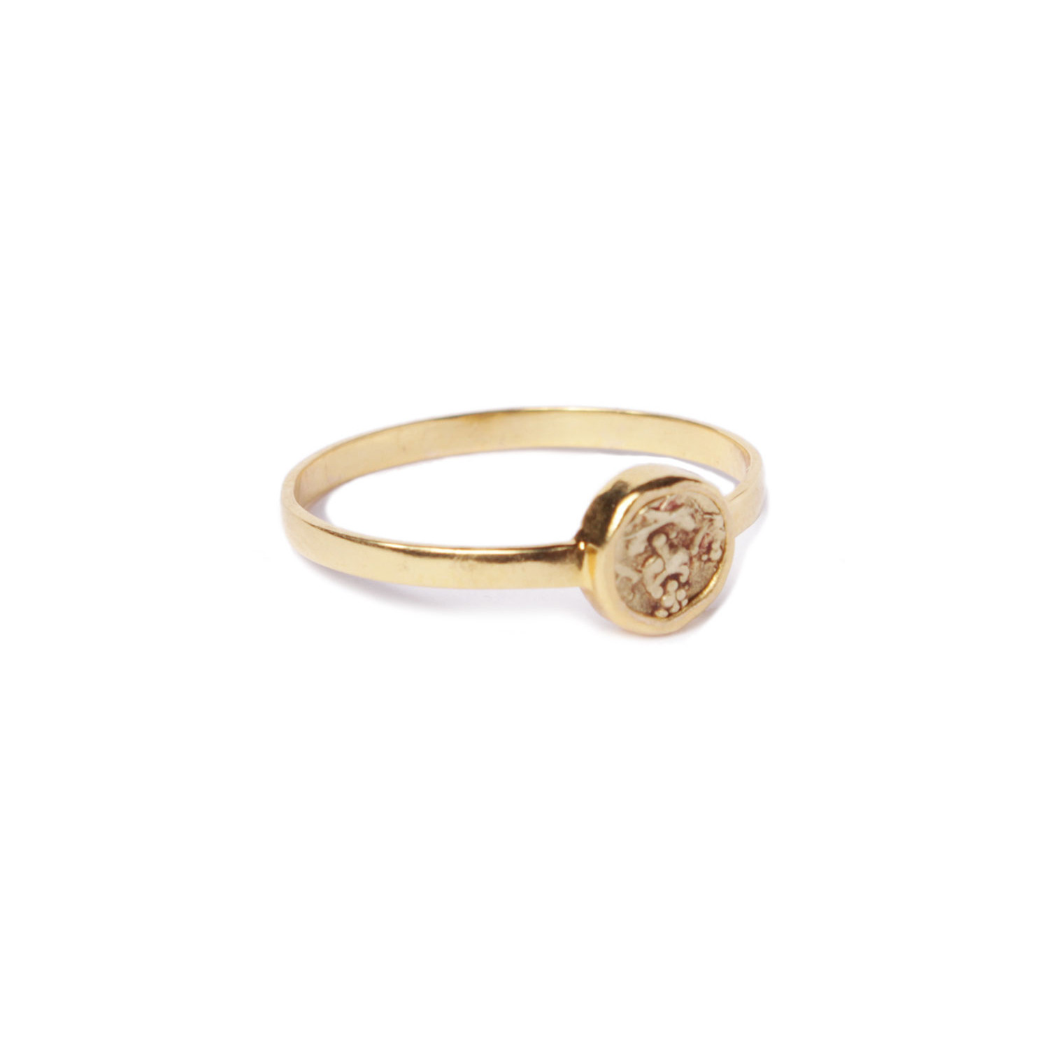Southern India Vishnu Gold Ring - Quantity of One - Touch of Modern
