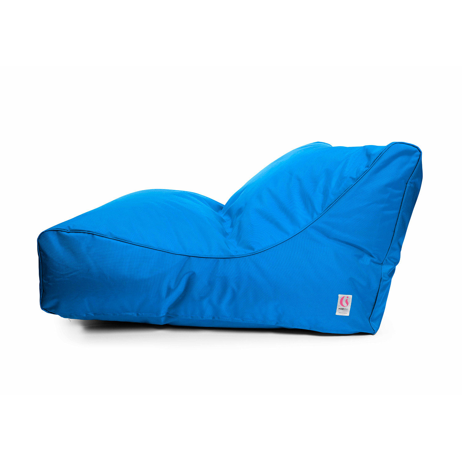 Uluwatu bean bag solid red indosoul touch of for Hand shaped bean bags