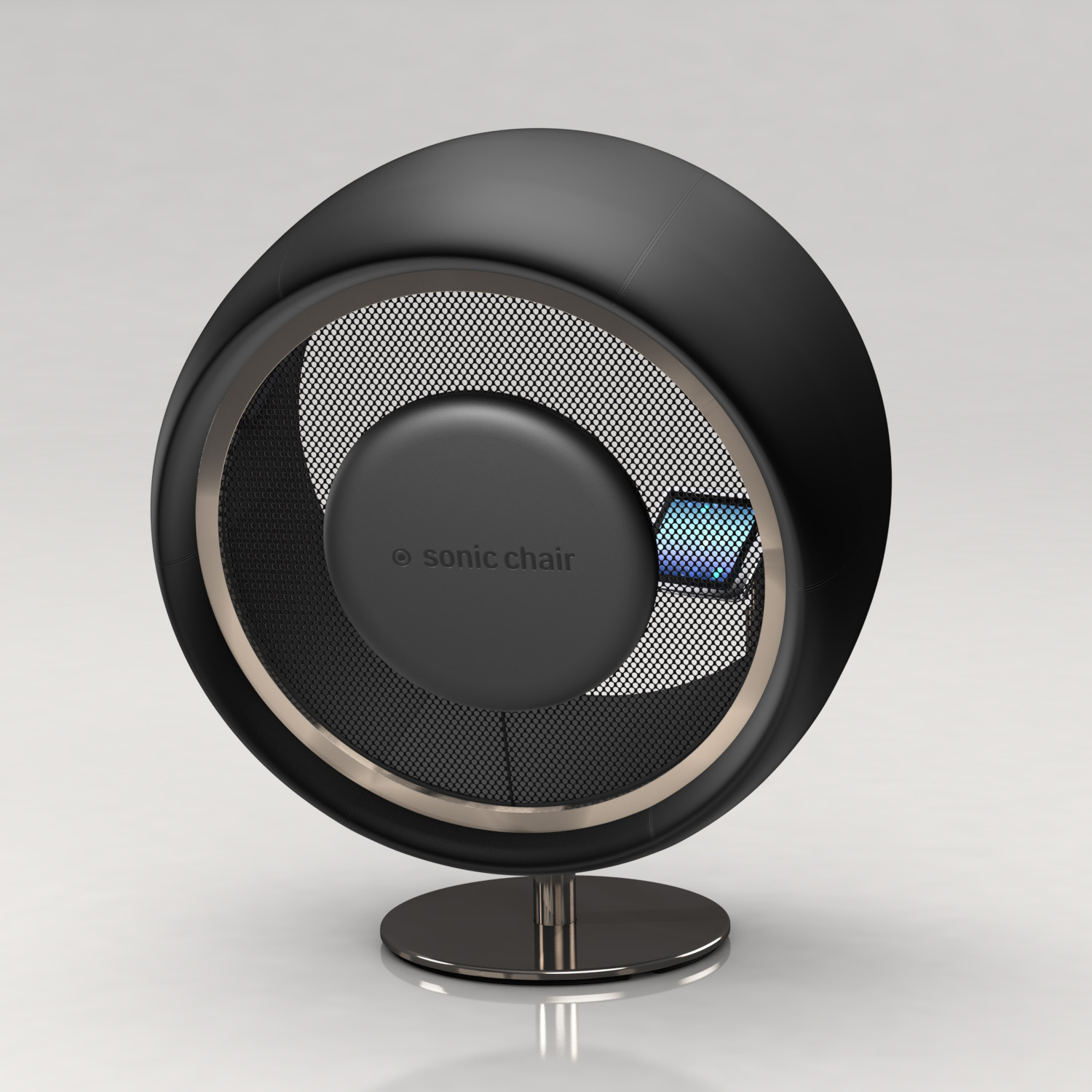 Sonic Chair special edition sonic chair black sonic chair touch of modern
