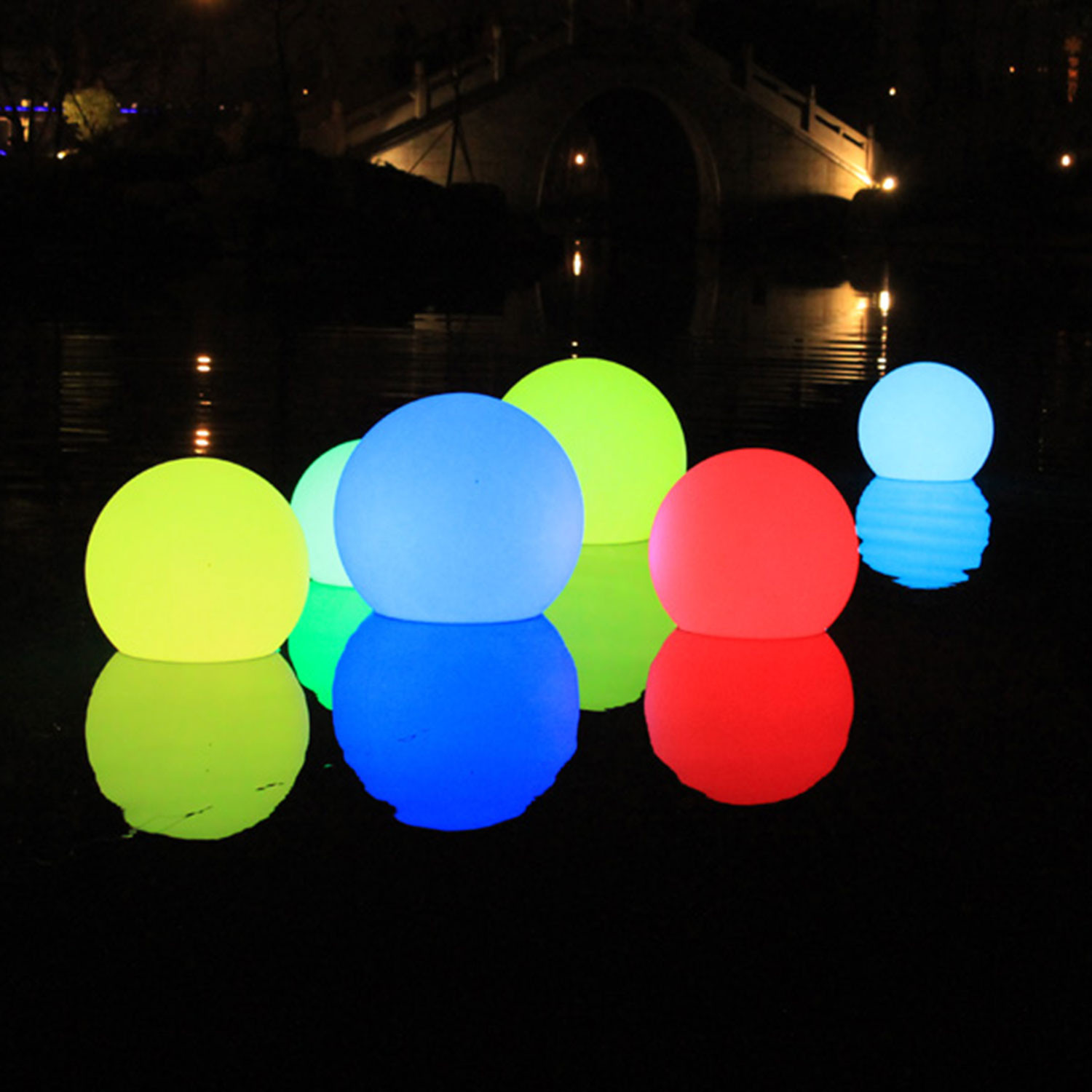 Led ball outdoor light large 197dia indosoul touch of led ball outdoor light large aloadofball Image collections