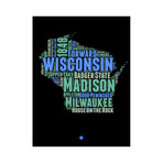 Wisconsin (Black + Green + Blue)