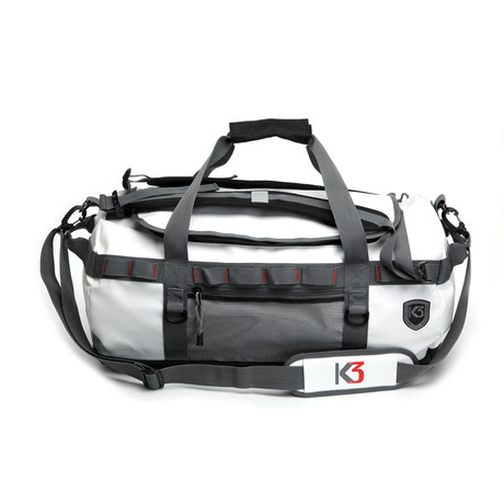 Excursion Duffle // White (40 Liter)