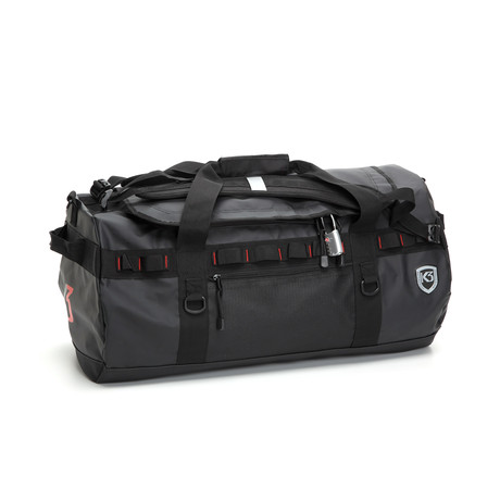 Excursion Duffle // Black (40 Liter)