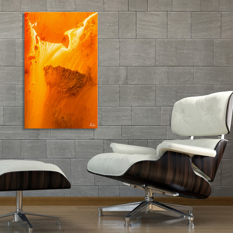 """Color In Fusion (12""""H x 8""""W x 0.75""""D)"""
