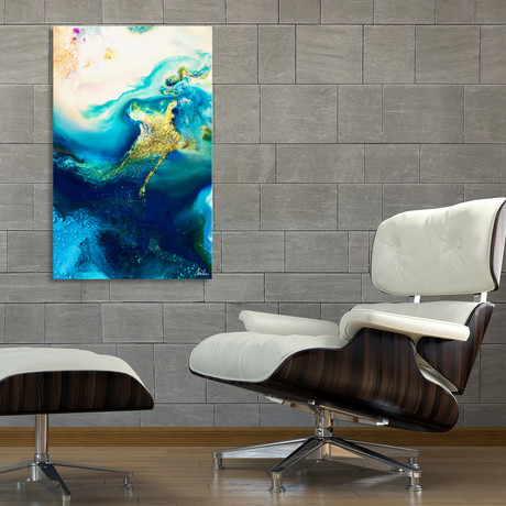 """Before The Storm (12""""H x 8""""W x 0.75""""D)"""