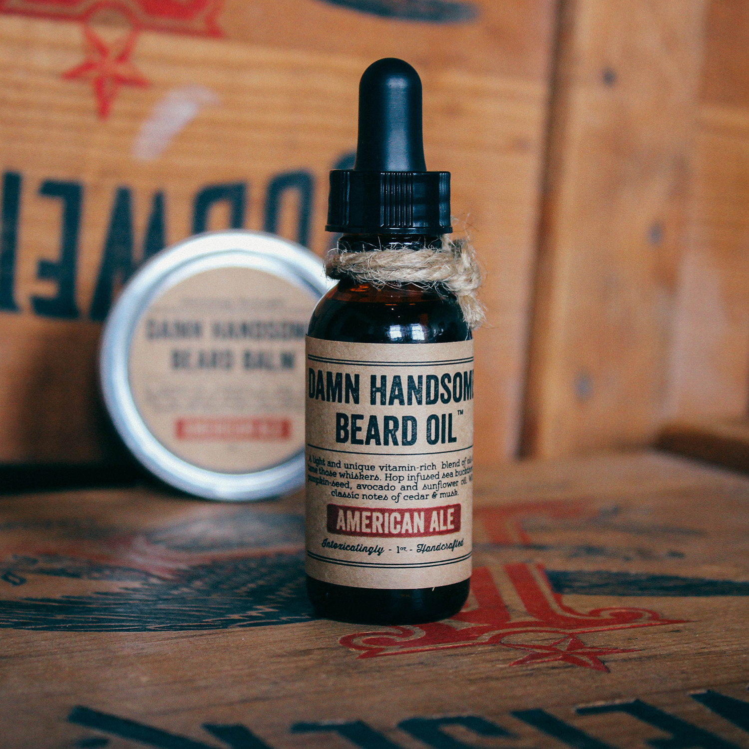 beard maintenance kit american pale ale damn handsome. Black Bedroom Furniture Sets. Home Design Ideas