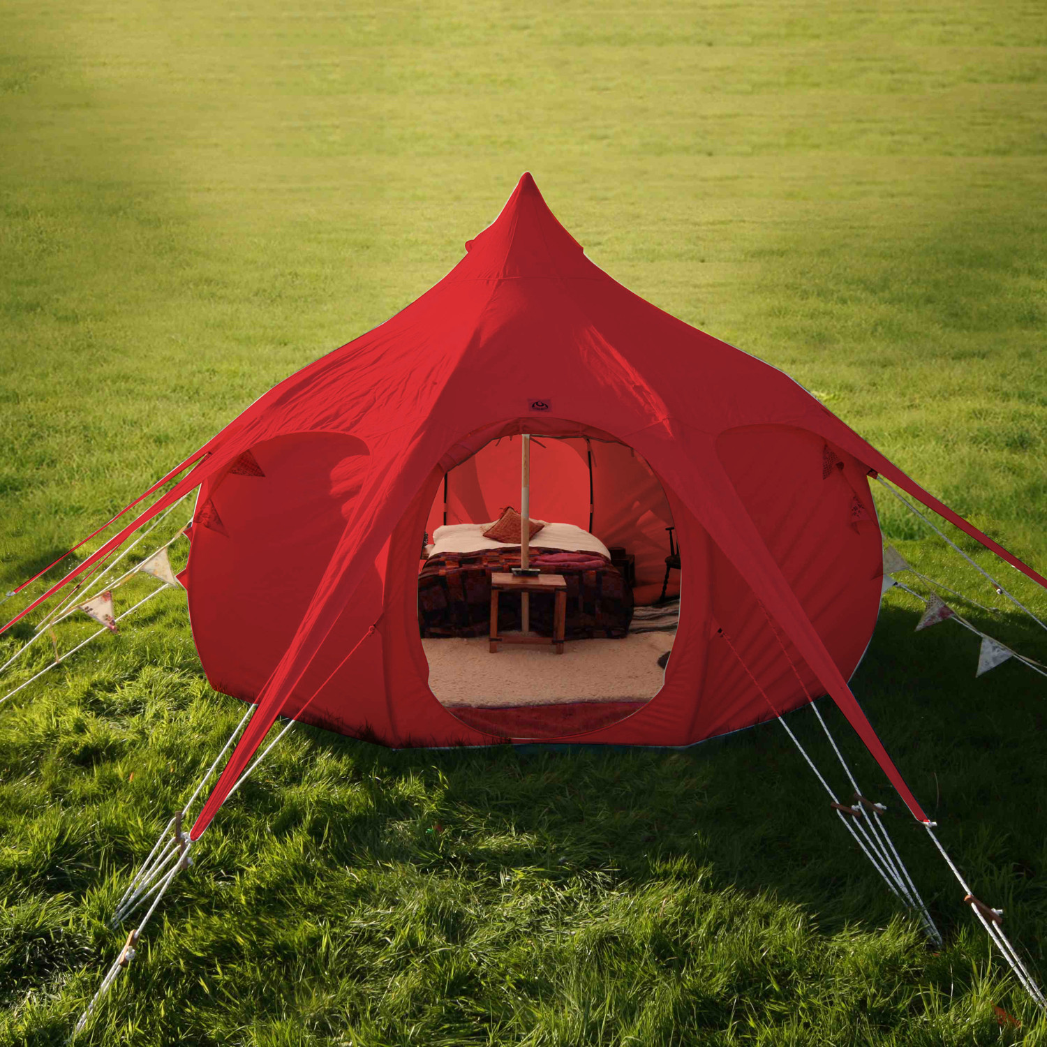 Lotus Belle Limited Edition Red Outback Tent // 16Ft & Lotus Belle Limited Edition Red Outback Tent // 16Ft - Lotus Belle ...