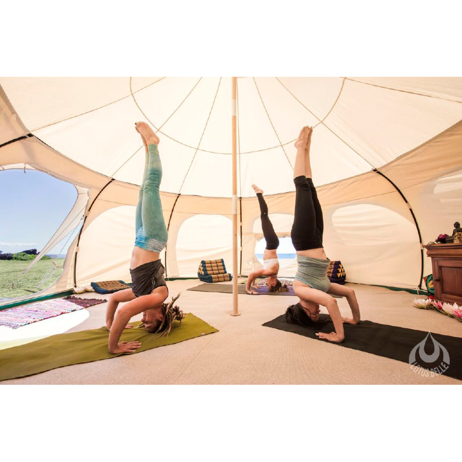 Lotus Belle Outback Deluxe Tent + Burner Hole // 16Ft  sc 1 st  Touch of Modern & Lotus Belle Outback Deluxe Tent + Burner Hole // 16Ft - Lotus ...