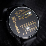 Division Furtive // Type 50 Watch // Dual Linear Movement (Pacific Time)
