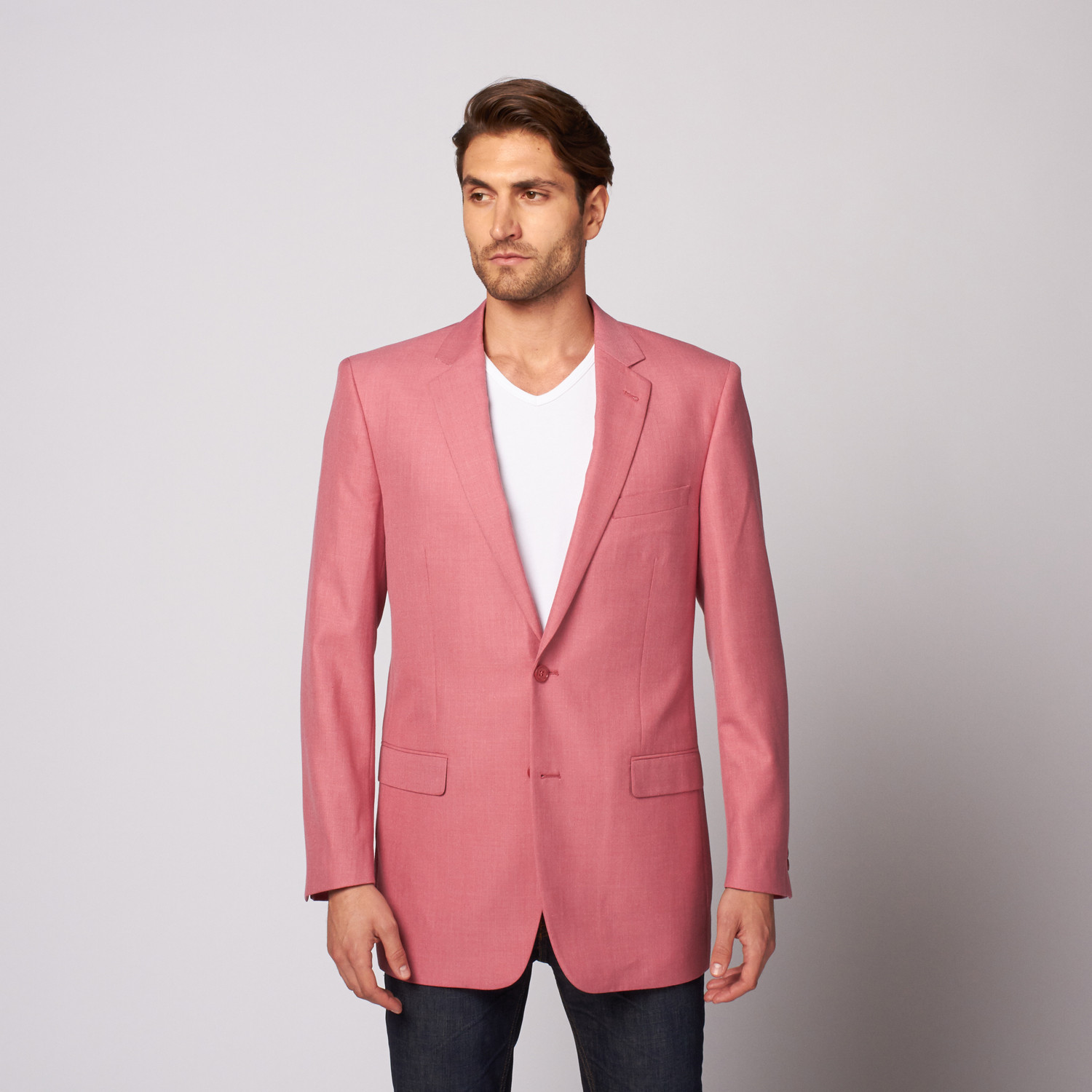 Zenbriele // Slim Fit Blazer // Light Red (US: 36R) - Last Grab ...