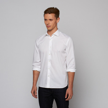 Curated USA // Moma Button Down // White (S)