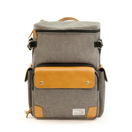 CamPro Camera Backpack // Grey