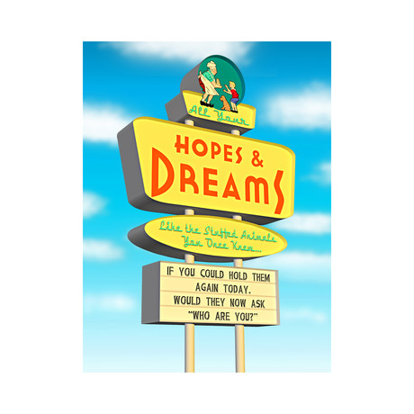 "Hopes and Dreams (11.25""W x 15""H)"
