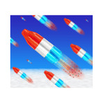 "Bomb Pop (15""W x 13.5""H)"