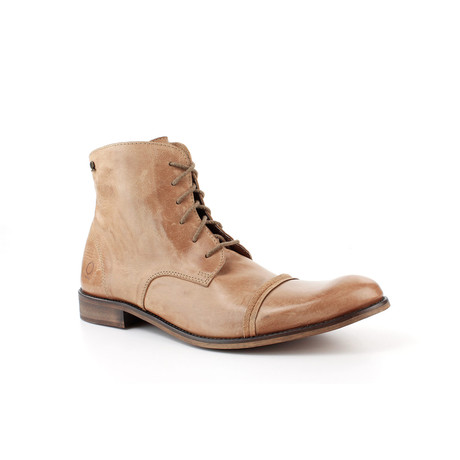 Urban Cap-Toe Ankle Boot // Sand (US: 7)