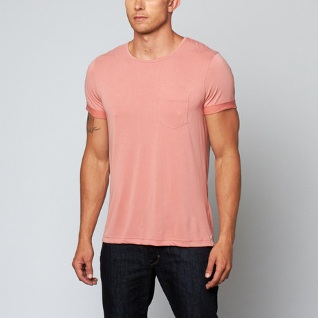 Liberty Pocket Tee // Salmon (S)