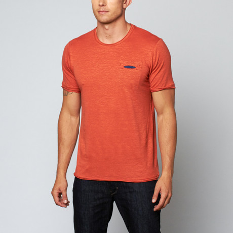 George Linen Tee // Burnt Orange (S)