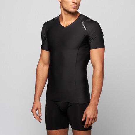 Pullover Posture Shirt 2.0 // Black (S)