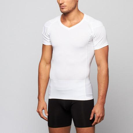 Pullover Posture Shirt 2.0 // White (S)
