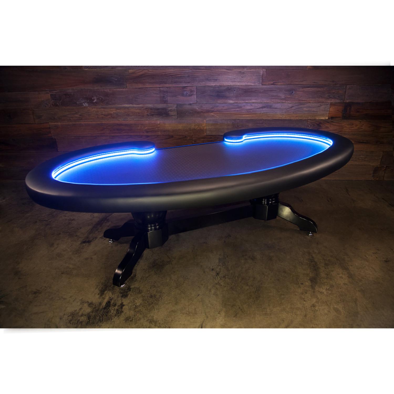 Stupendous The Lumen Hd Poker Table Black Bbo Poker Tables Touch Beutiful Home Inspiration Xortanetmahrainfo