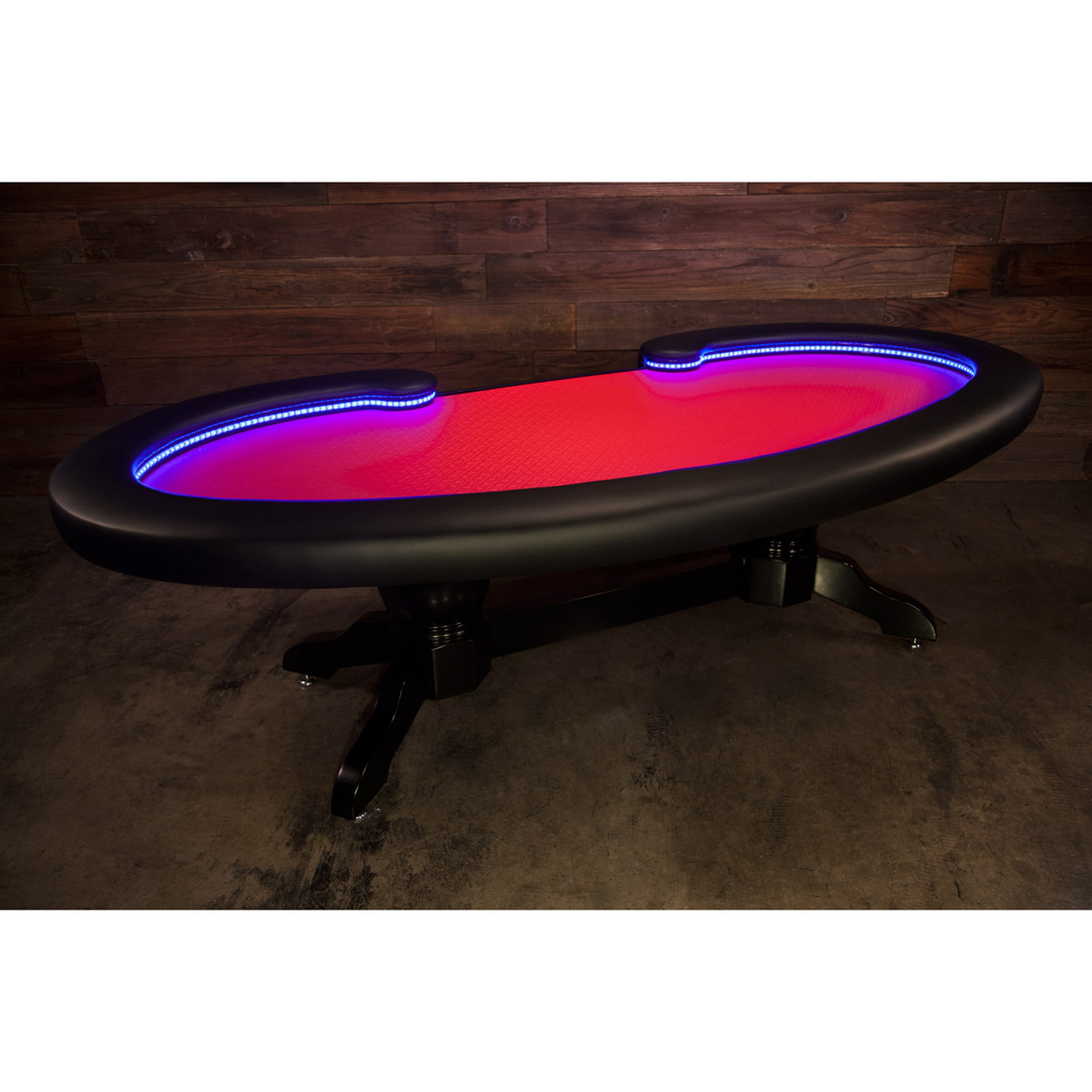 The Lumen HD Poker Table (Red)