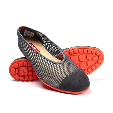 Summer Mesh Slip-On Sneaker // Grey