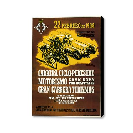 """Gran Carrera Turismos (16""""W x 20""""H x 1.5""""D)"""