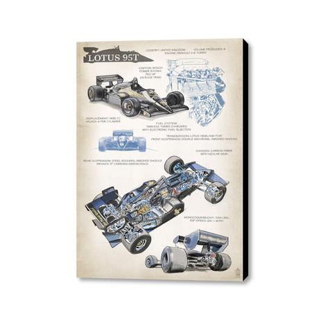 """Lotus 95T (16""""W x 20""""H x 1.5""""D)"""