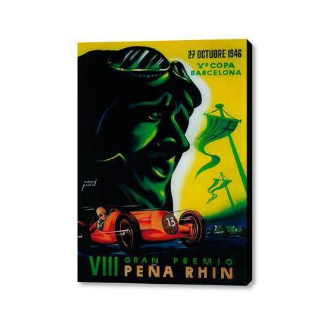 "VIII Gran Premio Peña Rhin (16""W x 20""H x 1.5""D)"