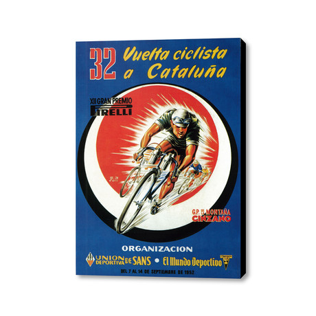 "32 Vuetta ciclista a Cataluña (20"" x 16"")"