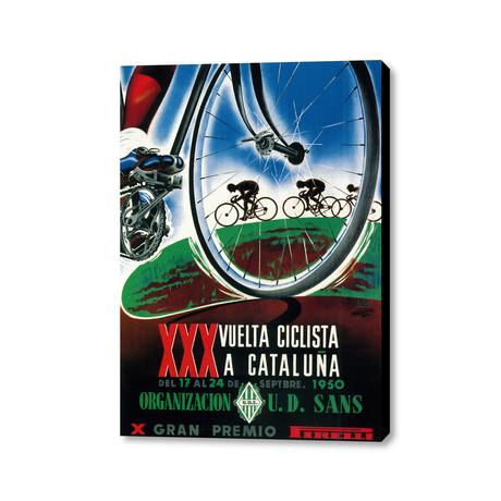 """XXX Vuelta Ciclista A Cataluna (18""""L x 24""""W)"""