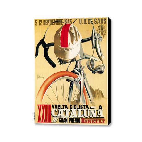 """XXIII Veulta Ciclista A Cataluña (18""""L x 24""""W)"""