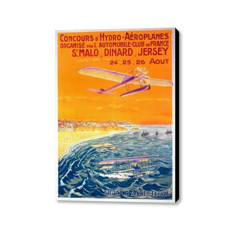 """Concours D'Hydro-Aéroplanes (18""""L x 24""""W)"""